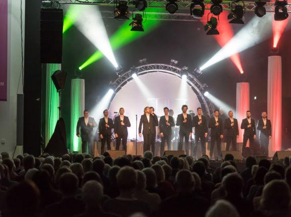 Konzert der zwölf Tenöre im Kurhaus Bad Bevensen
